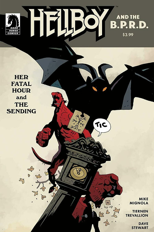 Hellboy and the B.P.R.D.: Her Fatal Hour and the Sending #1 Mignola Variant