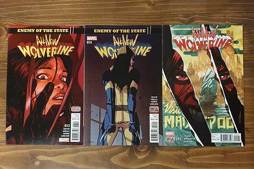All-New Wolverine #13-14-15 Set
