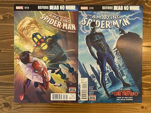 Amazing Spider-Man (2015) #18-19 Set