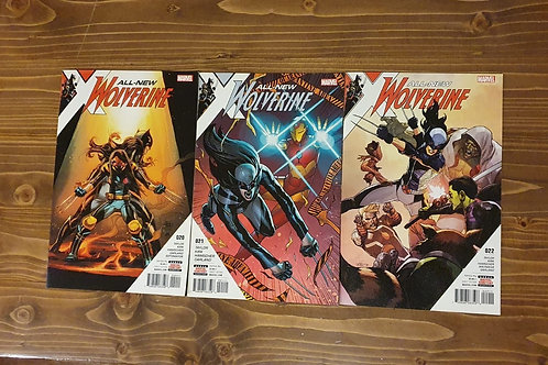 All-New Wolverine #20-21-22 Set