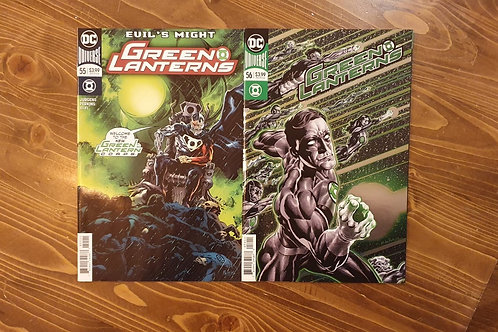 Green Lanterns (2016) #55-56 Set
