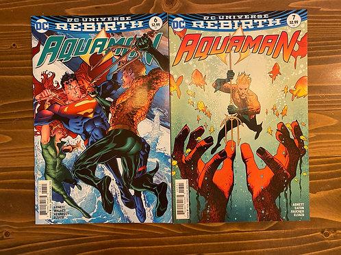 Aquaman #6-7 Set