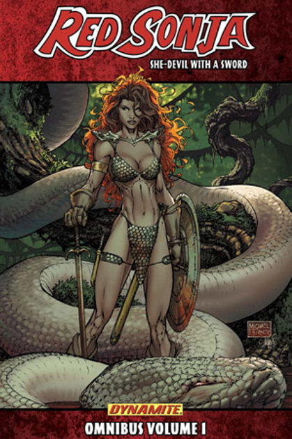 Red Sonja: She-Devil With A Sword Omnibus Vol. 1