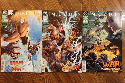 Injustice 2 #20-21-22 Set