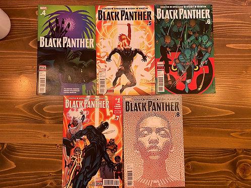 Black Panther #4-5-6-7-8 Set