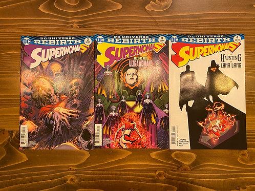 Superwoman #2-3-4 Set