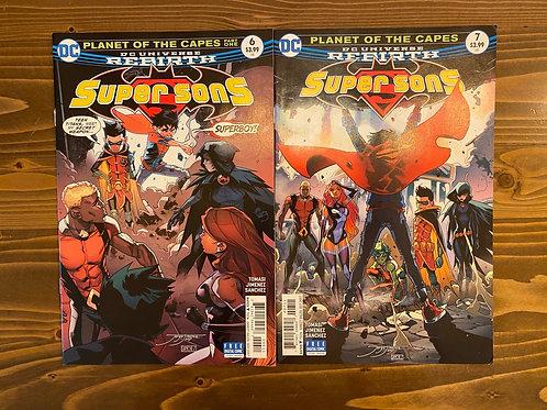 Supersons #6-7 Set