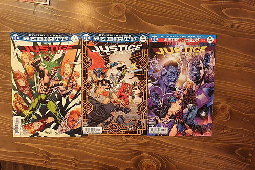 Justice League (2016) #11-12-13 Set