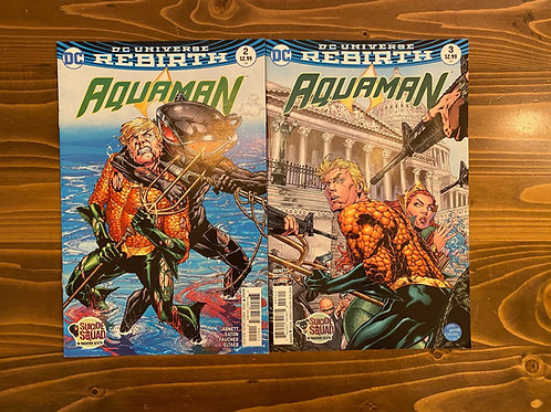 Aquaman #2-3 Set