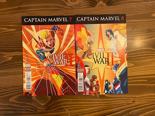 Captain Marvel #7-8 Set