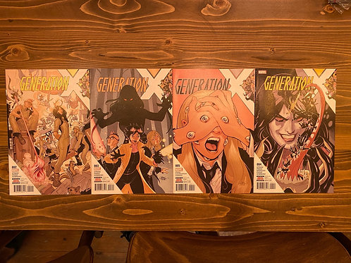 Generation X #2-3-4-5 Set