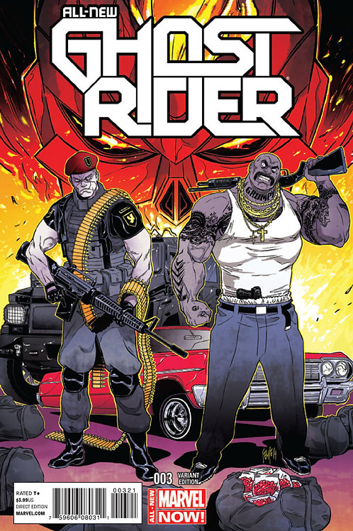 All-New Ghost Rider (2014) #3 1:25 Ratio Variant