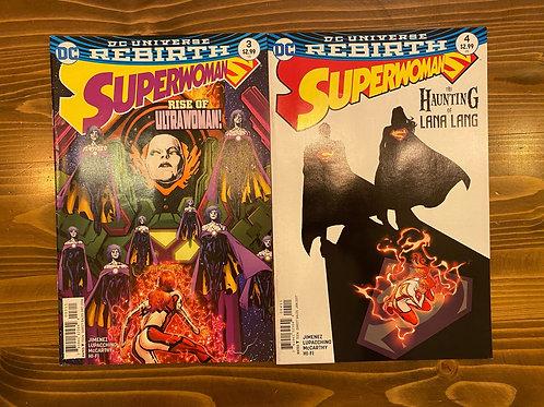 Superwoman #3-4 Set