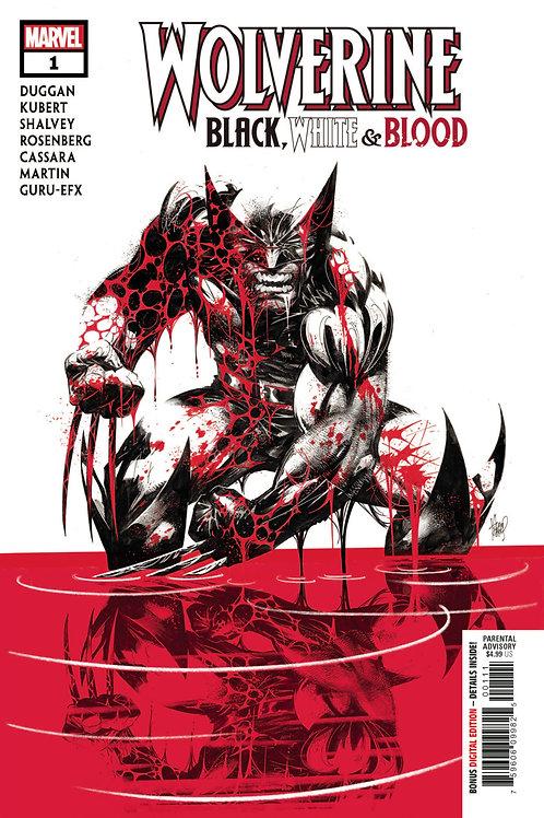 Wolverine Black White & Blood #1