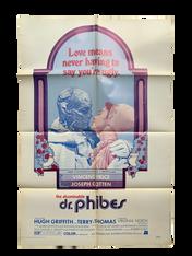 "AFICHE DE CINE ""THE ABOMINABLE DR. PHIBES"""