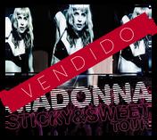 "CD MADONNA ""STICKY&SWEET TOUR"""