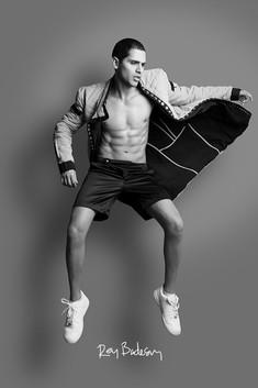 BOYSWILLBEKINGSx REY BADESAN / Designer EMMA KATS / Model: GABO PANTHER
