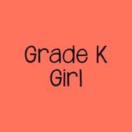 Grade K Girl