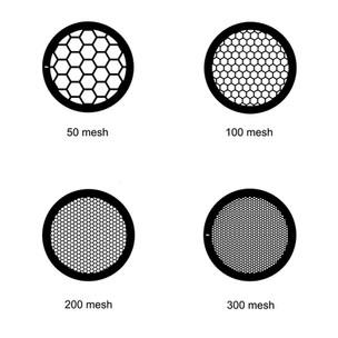 Rejillas con malla hexagonal varios materiales