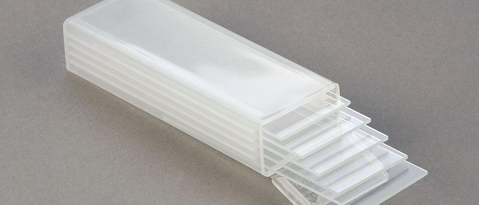 Contenedor de laminillas de vidrio de 5 posiciones