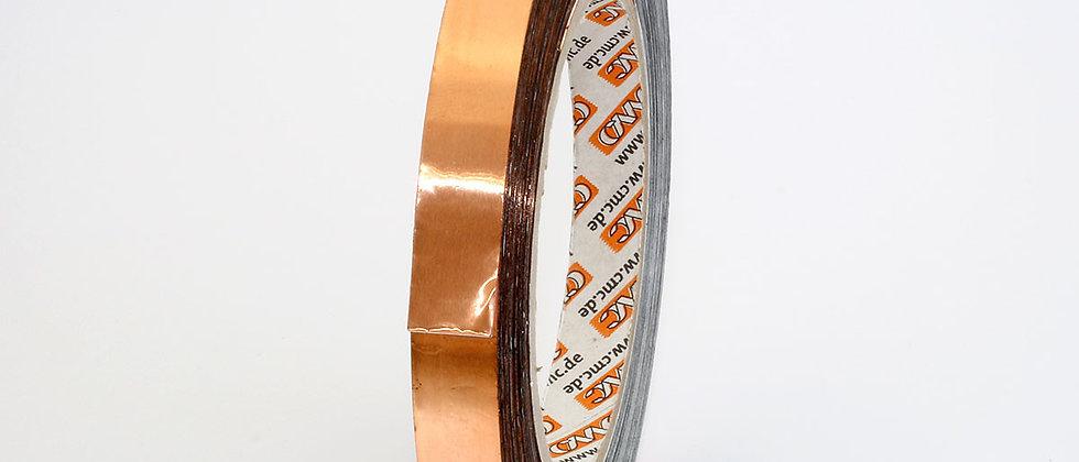 Cinta de cobre doble cara adhesiva 12mm