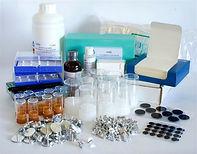 kit de consumibles microscopía electrónica