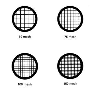 Rejillas de malla cuadrada varios materiales