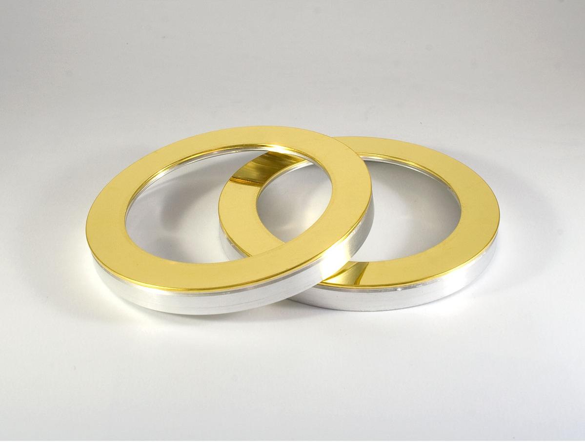 Blanco de oro anular