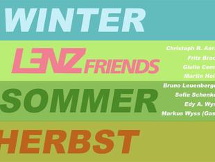 LENZ FRIENDS Jahreszeiten Ausstellung bei uns im Kunstraum