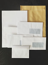 enveloppes enveloppe mécanisable routable routeur kraft blanc