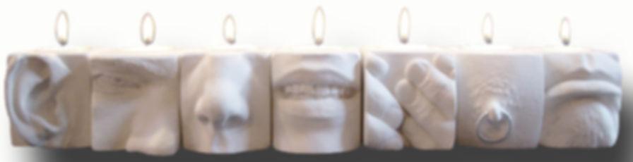 Daniel Pierre Lamothe Cement Tiles Montréal, QC, Canada Dapila Handmade Hydrostone Objets Décoratif Utilitaires Pratiques Pour Maison Salle Bain Salle D'eau Chambres Coucher Cuisine Art de Table Comptoir Bureau Office Garage Chalet Cadeaux Pour Amis Homme Femme Famille Le Corps Recomposé Petits Supports Crochets Bibelots Moulages Plâtre Hydrostone Béton Mosaïques Ciment Parties Corps Humain Tête Oreilles Bouches Nez Dentitions Sourire Moue Grimace Doigts Mains Seins Mamelon Pied Orteils Nombrils Érotiqu'Art Génitaux Vagin Vulve Pénis Bougies Chandelles Lampions Liaison Sacrée Du Religieux Avec La Lumière Représenté Par La Flamme Exemple Célébration Judaïsme Dieu Présent Peuple Hébreux Synagogues Prières Remerciement Bénédiction Lumière Divine Performance Ancestrale Au Moment Présent Créez Votre Menorah Candélabres Miracle Voir La Kabbale Cultes Cérémonial Tradition Païen Pagamisme Créez Votre Totem Joyeux Dapi Cubes Right Step Best Step Aube Benvenito He