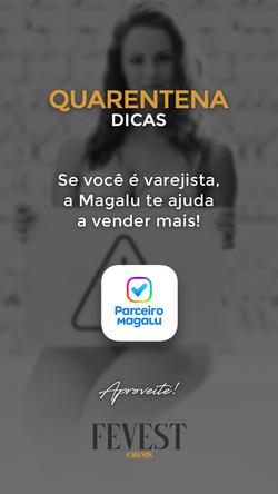 fevest dicas - magalu_varejista_stories.