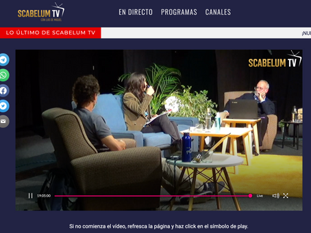 Scabelum.tv se viste de largo