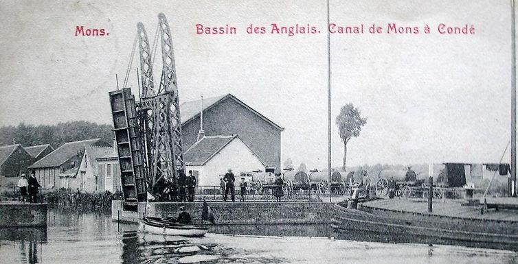 """La """"bernaterie"""" , quai Nord à Mons"""