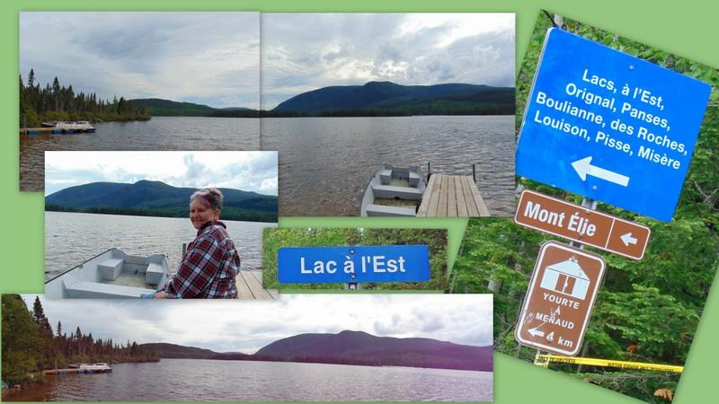 Lac à l'Est