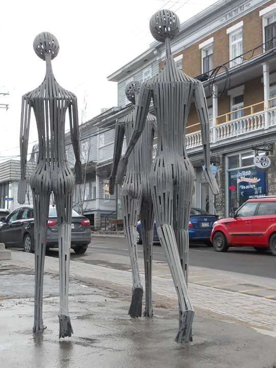 Art public à La Malbaie