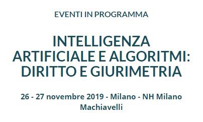 NetworkLex partecipa al convegno Intelligenza artificiale e algoritmi: diritto e giurimetria