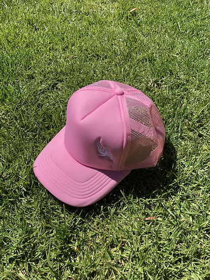 Brighter Days Truckers Cap Pink or Yellow