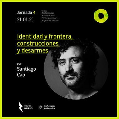 Ciclo de conferencias virtuales-Santiago
