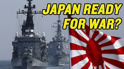 130 Japan Readies for WAR with China