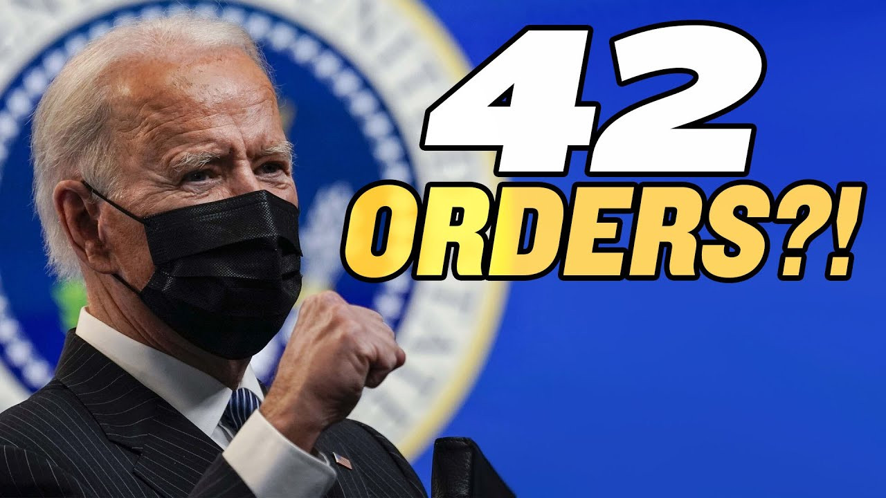 Biden Signs More Executive Actions Than Any New President