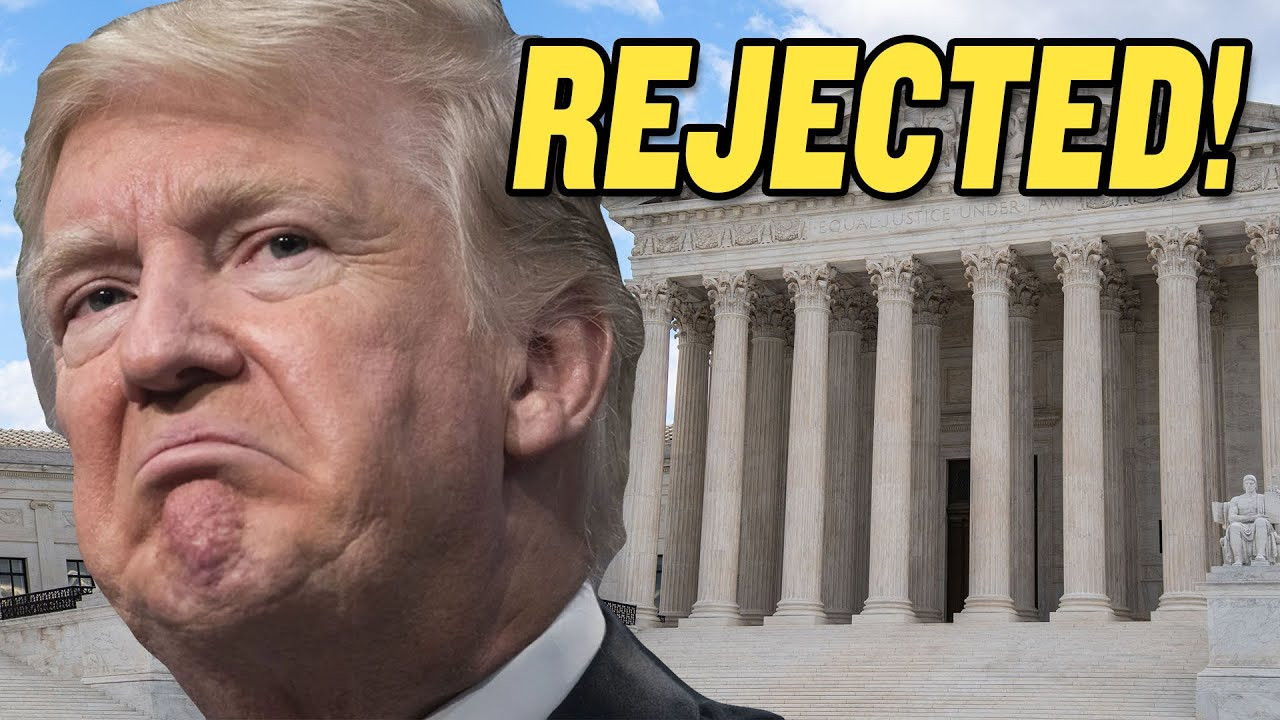 Supreme Court REJECTS Trump's 2020 Election Lawsuits