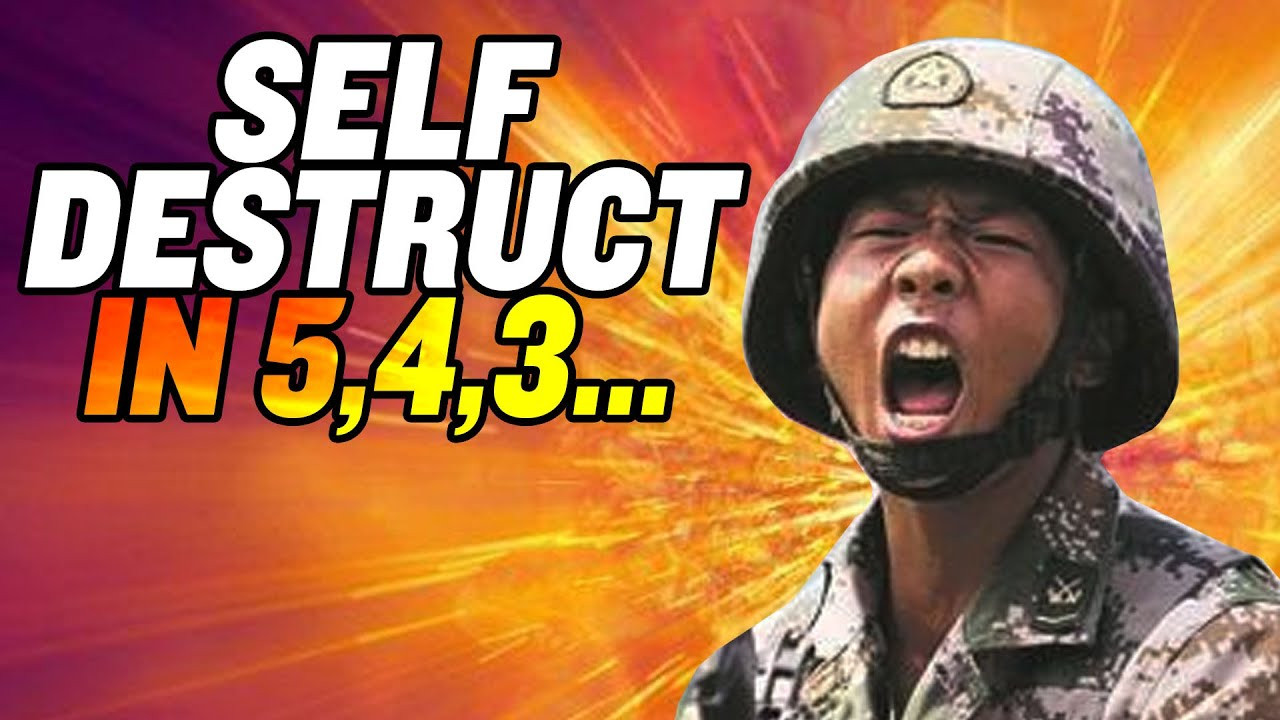 """Self-Destruct Helmets"" for Chinese Soldiers?"