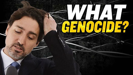 Trudeau Won't Admit China Is Committing Genocide