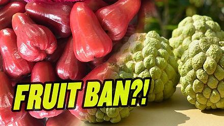 China Bans Taiwan's 'Dangerous' Fruit (Over Politics)
