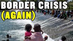 15,000 Migrants SURGE at Texas Border