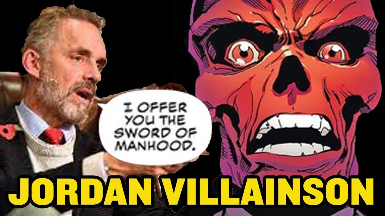 Jordan Peterson Is RED SKULL in new Captain America