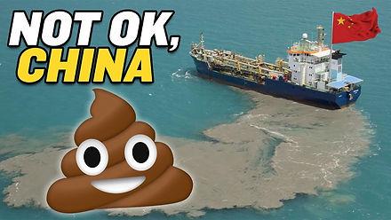 China Dumping SEWAGE Near Philippines