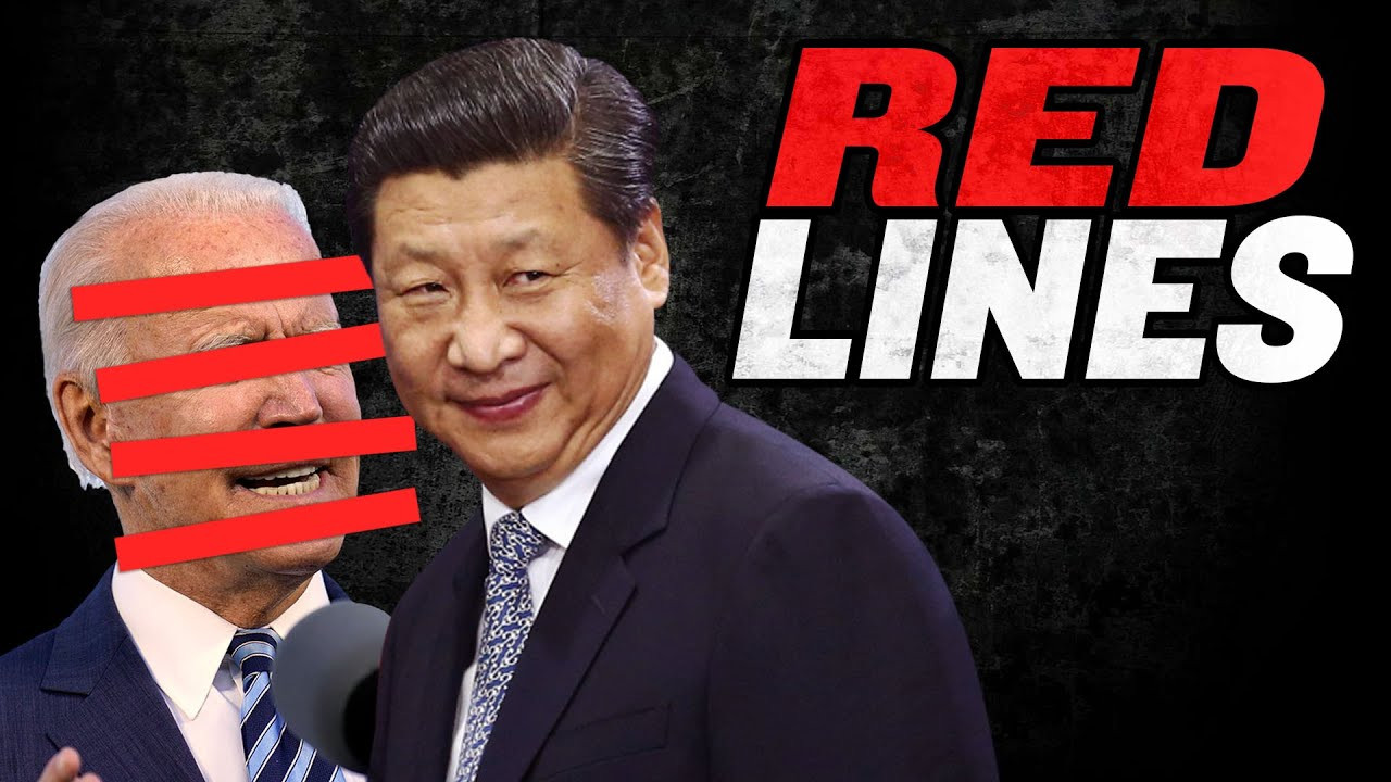China Draws Red Lines for US