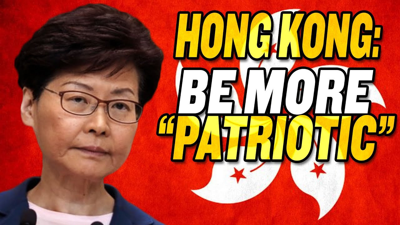 "China Orders Hong Kong to be More ""Patriotic"""